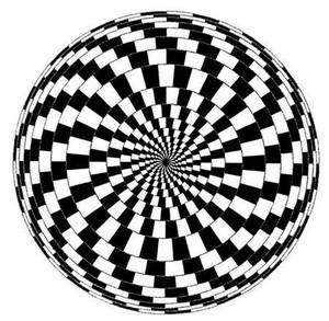 トリックアート目の錯覚画像