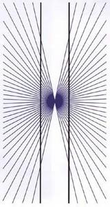 目の錯覚トリックアートだまし絵画像