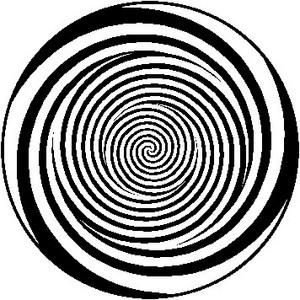 目の錯覚を利用したトリックアート画像