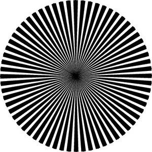 目の錯覚トリックアート画像